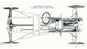 Ford Model T Chassis  Classic Exhaust Configuration With