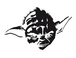 Yoda Face Pumpkin Stencil carve these star wars pumpkins you shall wired