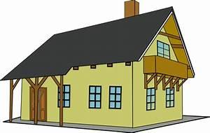 house clip art free vector 4vector With whirlpool garten mit katzennetz balkon transparent