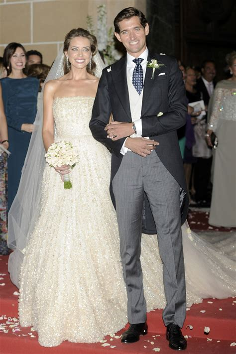 celebrity wedding maria colonques  andres benet
