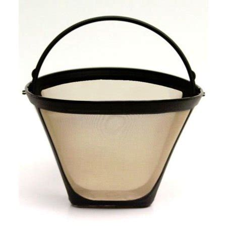 Find great deals on ebay for cone permanent coffee filter. NEW Universal Gold Tone Permanent #4 Cone Coffee Filter ...