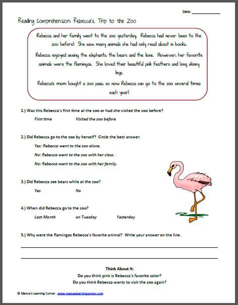 7th Grade » Free Printable Reading Comprehension Worksheets For 7th Grade  Printable Worksheets