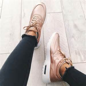 Rose Gold Nike Air Max Thea