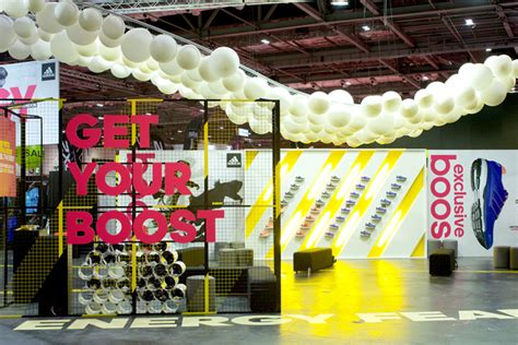 adidas boost london event  unibox wrg london uk