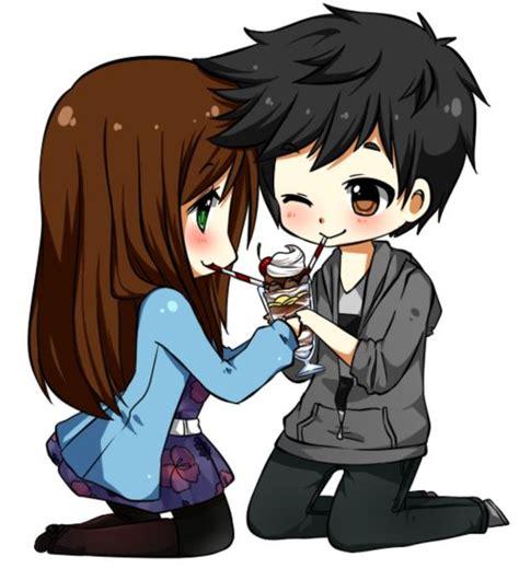 anime couple cute chibi c1914dd3f6f65da5497db84f8775389d jpg 500 215 548 brunette
