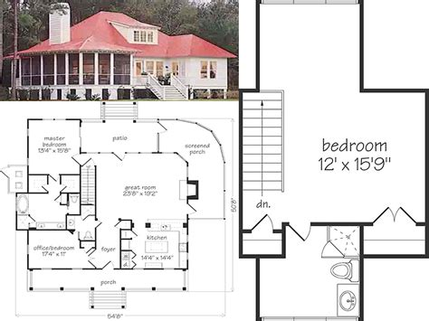 Cottage Homes Floor Plans by 25 Delightful Cottage Home Floor Plans Home Building Plans