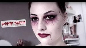 Maquillage D Halloween Pour Fille : maquillage vampire facile makeup halloween youtube ~ Melissatoandfro.com Idées de Décoration