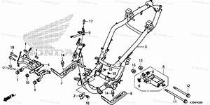Honda Scooter 2015 Oem Parts Diagram For Frame