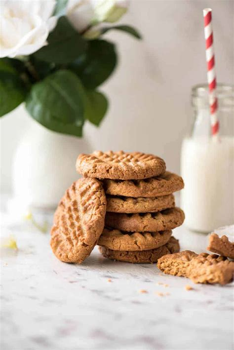 Best Peanut Butter World S Best Easy Peanut Butter Cookies Recipetin Eats