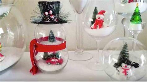 dollar store diy fishbowl snowmen