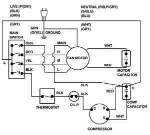 Compressor Start Capacitor Wiring Diagram Diagrams