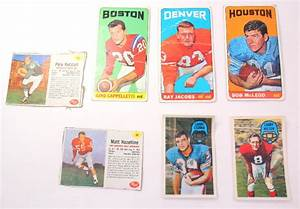 Topps Post Football Cards Cappelletti Ray Jacobs Bob