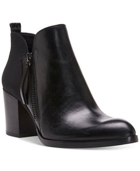donald  pliner edyn block heel ankle booties boots