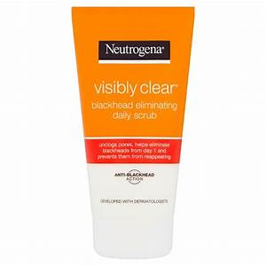 Neutrogena Visibly Clear Waschgel : neutrogena visibly clear blackhead scrub 150ml groceries tesco groceries ~ Avissmed.com Haus und Dekorationen