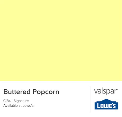 buttered popcorn from valspar paint colors valspar