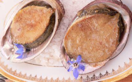 cuisiner ormeaux recette ormeaux au beurre mousseux 750g