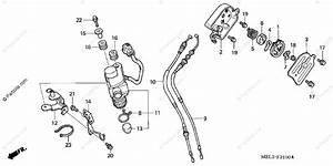 Honda Motorcycle 2005 Oem Parts Diagram For Servo Motor  1