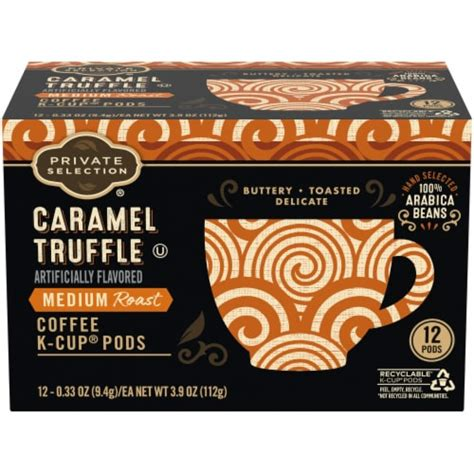 Victor allen offers a wide selection of coffee choices from light, medium and dark roasts to everyday and seasonal flavors, in bagged, single serve and ready to drink formats. Kroger - Private Selection™ Medium Caramel Truffle Coffee ...