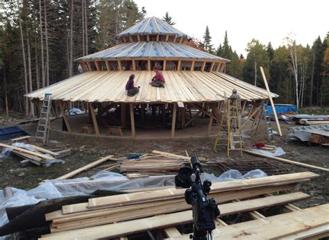 taper wall yurts heart soul construction