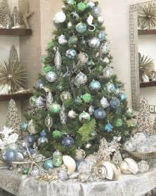 ocean inspired christmas tree look for me by the crystal sea a trib