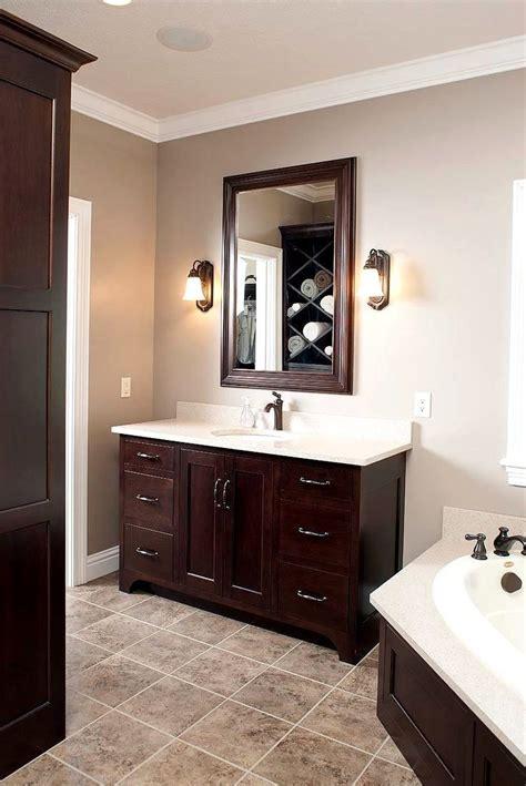 bathroom color ideas  dark vanity bathroom