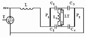 Schematic Diagram Of The Excitation Circuit  C1  C2  C3