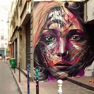Toile Street Art : street art utopia on d clare le monde comme notre toile by hopare in paris france 2014 ~ Teatrodelosmanantiales.com Idées de Décoration