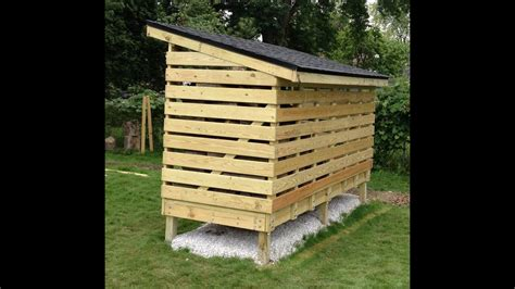 firewood storage shed plans how to build a firewood storage shed