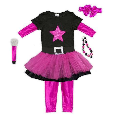 pink black rock tutu legging costume upon a bowtique