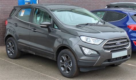 New Ford Ecosport St-line 2018 Review
