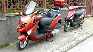 Kymco Grand Dink 250 Vs  Rex Rs 450