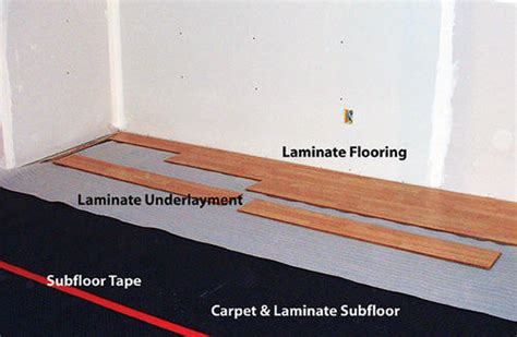 Floating Floor Underlayment Menards by Superseal 6 7 Quot X 50 Carpet Laminate Subfloor Membrane