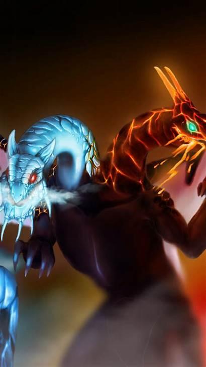 Dragon Head Twin Dota Jakiro