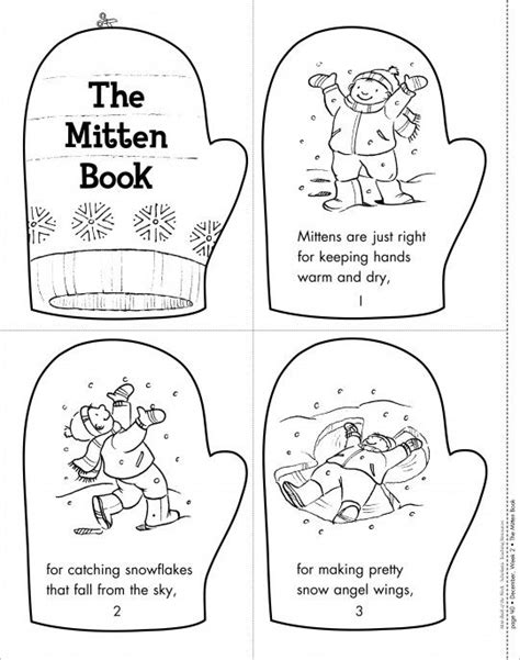 the mitten book mini book of the week from scholastic 614 | d61d50fab952610735f01d345886ab89