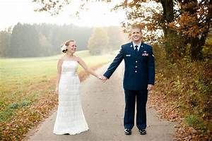 Fall Wedding Portraits in a Field - Inspired By This