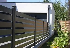 Cloturer Son Jardin Pas Cher : barriere cloture cloturer un jardin pas cher chromeleon ~ Melissatoandfro.com Idées de Décoration