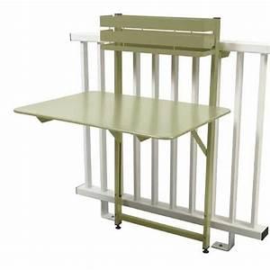 Table Balcon Pliante : table pliante bistro balcon tilleul de fermob ~ Teatrodelosmanantiales.com Idées de Décoration