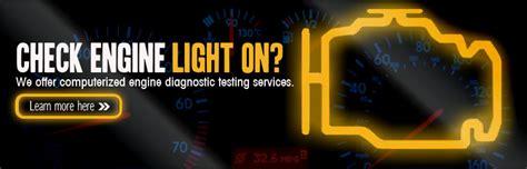 service engine light on auto repair brakes mitchell tire service anaheim ca