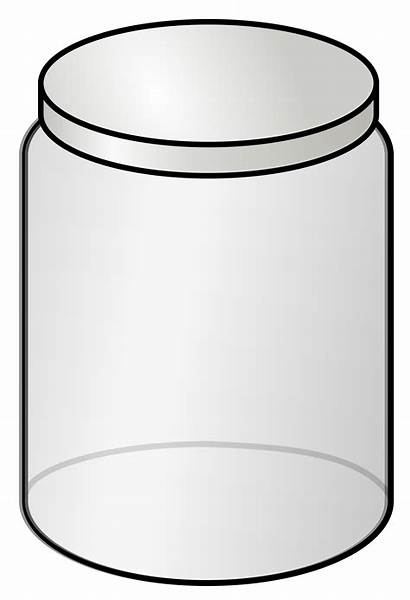 Jar Glass Clipart Box Svg Openclipart