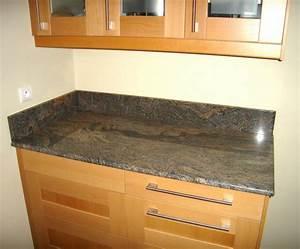 Plan De Travail Cuisine Granit : couleur granite plan de travail cuisine sofag ~ Dallasstarsshop.com Idées de Décoration