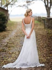 dresses to wear to a country wedding country wedding dresses style