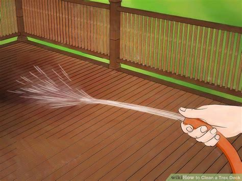 cleaning trex decking with how to clean a trex deck 10 steps with pictures wikihow