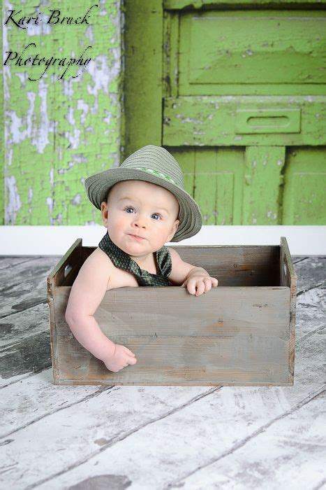 month baby boy photo shoot session idea baby sitting