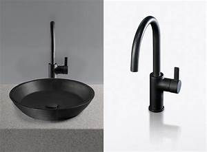 black lavatories and faucets waza noir from toto digsdigs With bathroom lavatories