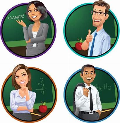 Teacher Profiles Teachers Types Four Different Games