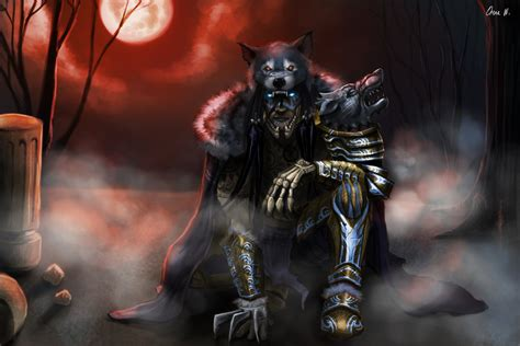 The Wolf King By Moekeykey On Deviantart