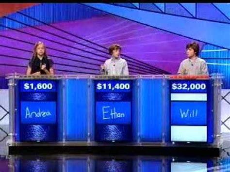 jeopardy kids flub reagan question youtube