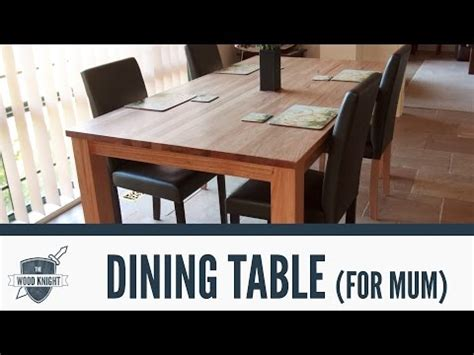 How To Build A Dining Table  242 Doovi