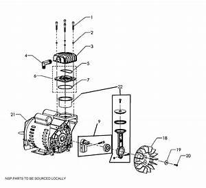 Pump Assy Diagram  U0026 Parts List For Model 92116473 Craftsman