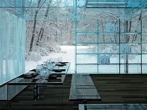 Haus Aus Glas : haus aus glas wohnen in vollkommener transparenz ~ Lizthompson.info Haus und Dekorationen